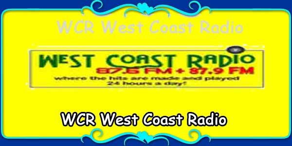 WCR West Coast Radio