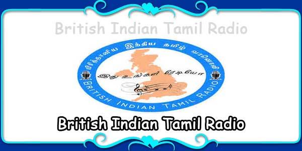 British Indian Tamil Radio